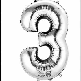 Number 3 Balloon