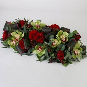 Premium Red Table Arrangement